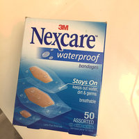 3M Nexcare Waterproof Bandages, Assorted Sizes, 50/Box uploaded by Brittany A.