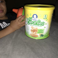 Gerber® Lil' Beanies™ White Cheddar & Broccoli Bean & Rice Snack 1.59 oz. Canister uploaded by Raven M.