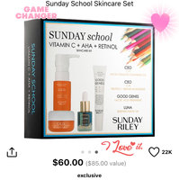 SUNDAY RILEY Sunday School Skincare Set uploaded by Jennifer S.