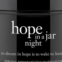 philosophy hope in a jar night intense retexturizing moisturizer uploaded by Alicia C.