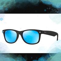 Ray-Ban RB 4105 601-58 50 Wayfarer Folding Black Plastic Frame Polarized Lenses Sunglasses uploaded by Heather A.