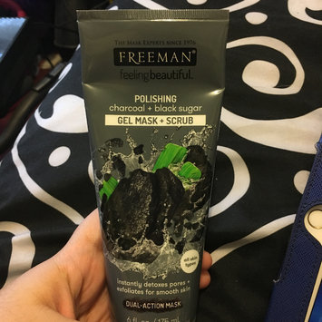 Photo of Freeman Beauty Feeling Beautiful™ Charcoal & Black Sugar Polishing Mask uploaded by Keisha B.