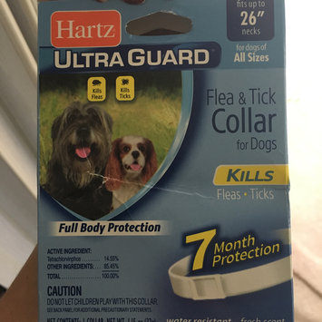 Photo of Hartz Ultra Guard Reflecting Flea & Tick Collar for Dogs and Puppies uploaded by Angel A.