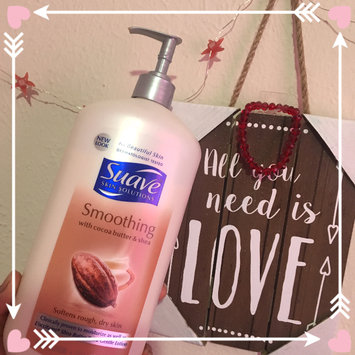 Photo of Suave® Smoothing with Cocoa Butter & Shea Body Lotion uploaded by Kausar T.