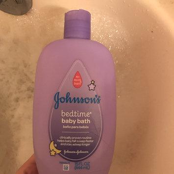 Photo of Johnson's® Bedtime Baby Bath uploaded by Saveena D.
