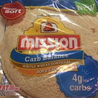 Mission® Carb Balance® Soft Taco Size Whole Wheat Tortillas 8 ct Bag uploaded by Mimi F.
