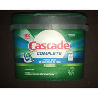 Cascade® Complete™ ActionPacs™ Dishwasher Detergent Fresh Scent uploaded by George Ann S.