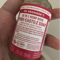 Dr. Bronner's Organic Pure Castile Liquid Soap Rose - 32 fl oz uploaded by Akane B.