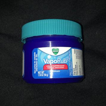 Photo of Vicks® VapoRub™ Topical Cough Suppressant uploaded by C C.