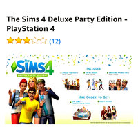 Ea Sims 4 Deluxe Party Edition Playstation 4 [PS4] uploaded by SABRINA B.