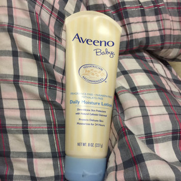 Photo of AVEENO® Baby Daily Moisture Lotion uploaded by Katie T.