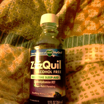Photo of ZzzQuil™ Soothing Mango Berry Alcohol Free Liquid uploaded by Chrimson E.