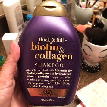 Photo of OGX® Biotin & Collagen Shampoo uploaded by Natalia B.
