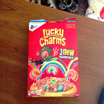 Photo of Lucky Charms Cereal uploaded by Bridgett B.