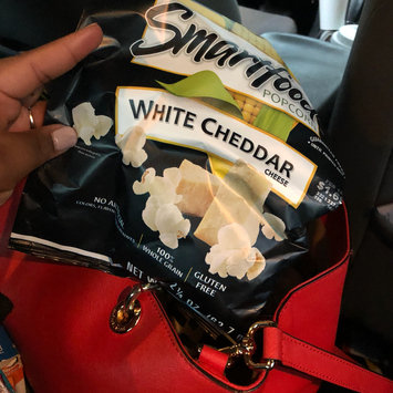 Photo of Smartfood® White Cheddar Cheese Popcorn uploaded by Jasmyn P.