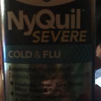 Vicks NyQuil Severe Cold & Flu Nighttime Relief Berry Flavor uploaded by George Ann S.