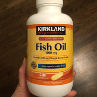 Kirkland Signature Natural Fish Oil Concentrate with Omega-3 Fatty Acids, 400 Softgels, 1000mg uploaded by Sharom P.
