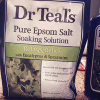 Dr Teal's Eucalyptus Epsom Salt Soaking Solution uploaded by Jessica J.