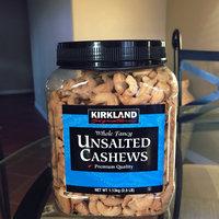 Kirkland Signature Kirkland Signature Unsalted Cashews, 2.5 Pound (Pack of 2) uploaded by Marytó C.