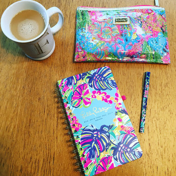 Photo of Lilly Pulitzer 17 Month Large Agenda, Scuba to Cuba [Turquoise, Pink, Blue] uploaded by Jennifer F.