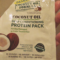 Palmer's Coconut Oil Formula Deep Conditioning Protein Pack uploaded by Kristine L.