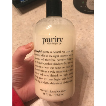 Photo of philosophy purity made simple one-step facial cleanser uploaded by Loni B.