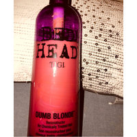 TIGI Bed Head Dumb Blonde Reconstructor for After Highlights uploaded by Brenda L.