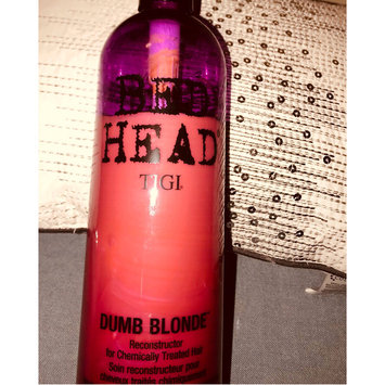 Photo of Tigi Bed Head Dumb Blonde After Highlights Reconstructor uploaded by Brenda L.