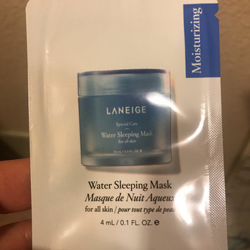 Photo of LANEIGE Water Sleeping Mask uploaded by Candice R.