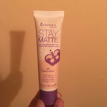 Photo of Rimmel Stay Matte Liquid Mousse Foundation uploaded by George Ann S.