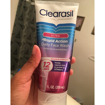 Photo of CLEARASIL® Rapid Rescue Deep Treatment Scrub uploaded by Brandi P.
