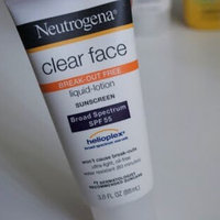 Neutrogena® Clear Face Break-Out Free Liquid Lotion Sunscreen Broad Spectrum SPF 55 uploaded by Umema H.