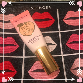 Photo of Too Faced Primed & Peachy Cooling Matte Perfecting Primer uploaded by veronica A.