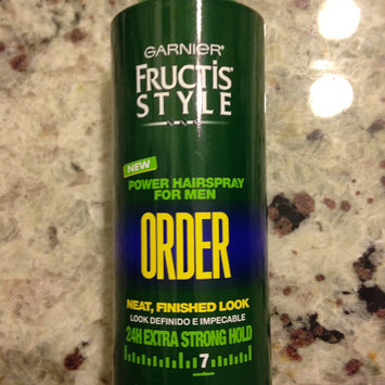 Photo of Garnier Fructis Style 24HR Extreme Hold Hairspray, 6 oz uploaded by Nka k.