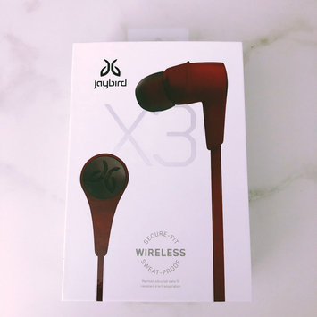 Photo of JayBird - X3 Wireless In-Ear Headphones - Blackout uploaded by Tamara F.