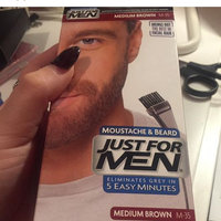 JUST FOR MEN® Brush-In Color Gel for Mustache and Beard Hair Color Dark Brown uploaded by Levi C.
