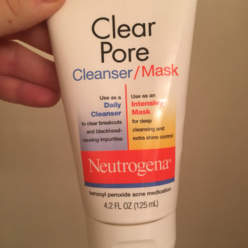 Photo of Neutrogena®  Clear Pore Cleanser/Mask uploaded by Natalie P.
