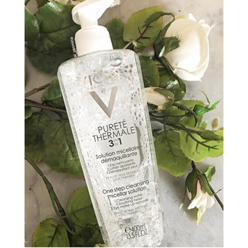 Photo of Vichy Pureté Thermale 3-in-1 One Step Cleanser for Sensitive Skin uploaded by Yasmeen Y.