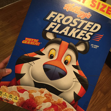 Photo of Kellogg's Frosted Flakes Cereal uploaded by Tabitha M.