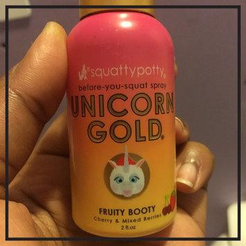 Photo of Unicorn Gold Air Freshener Spray Scent - Squatty Potty, Yellow uploaded by khorena 🌿.