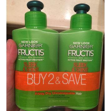 Photo of Garnier Fructis Sleek & Shine Leave-In Conditioner, 10.2 oz uploaded by Amber L.