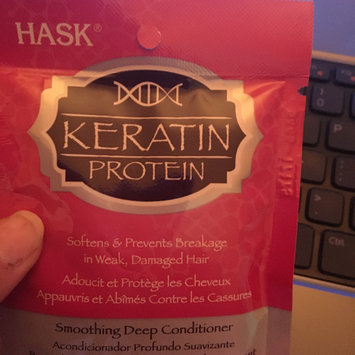 Photo of Hask Keratin Protein Smoothing Deep Conditioner uploaded by Kayla T.