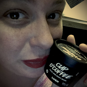 Photo of LUSH Cup O' Coffee Face and Body Mask uploaded by Ashley H.