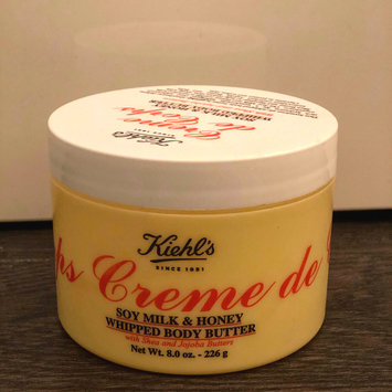 Photo of Kiehl's Creme de Corps Soy Milk & Honey Whipped Body Butter 12oz (360ml) uploaded by Online R.