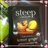 Steep by Bigelow® Organic Lemon Ginger Caffeine Free Herbal Tea 20 ct. Bags uploaded by Jessica P.