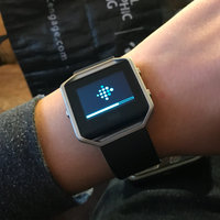 Fitbit - Blaze Smart Fitness Watch (large) - Black uploaded by Julissa V.