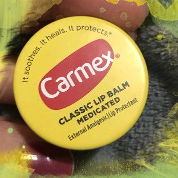Photo uploaded to Carmex® Classic Lip Balm Original Jar by Genesis M.