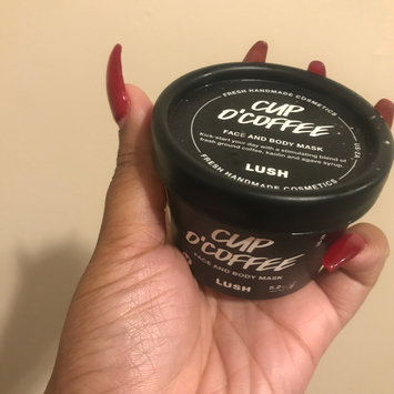 Photo of LUSH Cup O' Coffee Face and Body Mask uploaded by Lolah J.