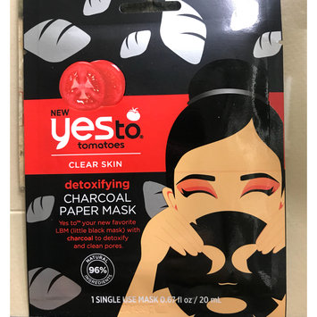 Photo of Yes To Tomatoes Detoxifying Charcoal Paper Mask uploaded by Brittany W.