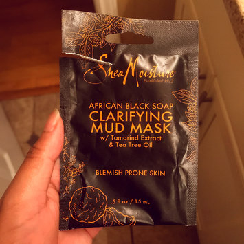 Photo of SheaMoisture African Black Soap Clarifying Mud Mask uploaded by Hunter J.